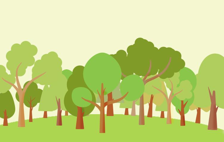 Visualisierung Waldspaziergang